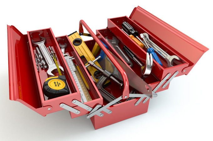 Tool kit for home lift service and maintenance